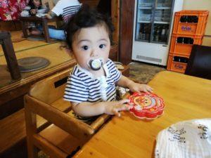 宜野湾市普天間の台湾料理屋花蓮KAREN ベビーチェア