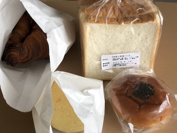 央製パン堂で買ったパン
